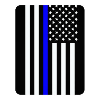 Thin Blue Line American Style Card