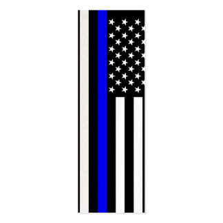 Thin Blue Line American Style Mini Business Card