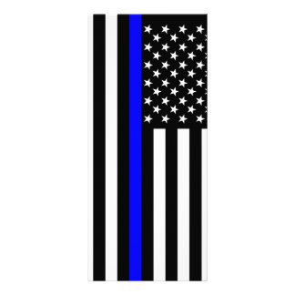 Thin Blue Line American Style Rack Card