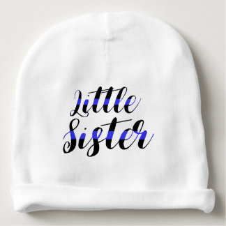 Thin Blue Line Baby Little Sister Police Hat