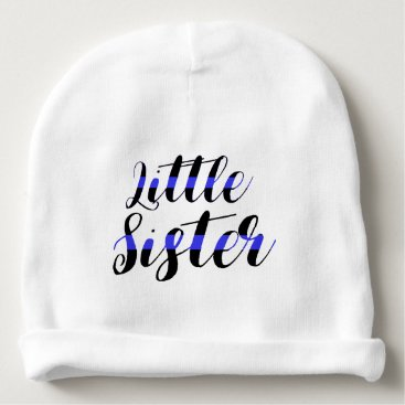 Toddler & Baby themed Thin Blue Line Baby Little Sister Police Hat