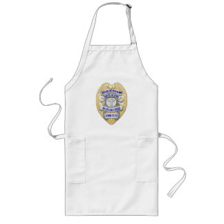 Thin Blue Line - Badge and Cross Long Apron