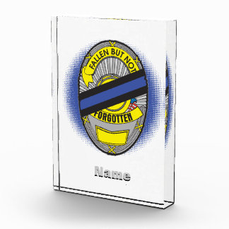 Thin Blue Line Badge Award