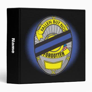 Thin Blue Line Badge Binder