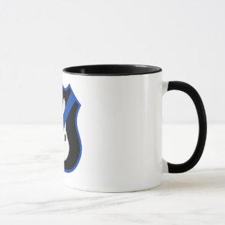 Thin Blue Line Badge Bunny Mug