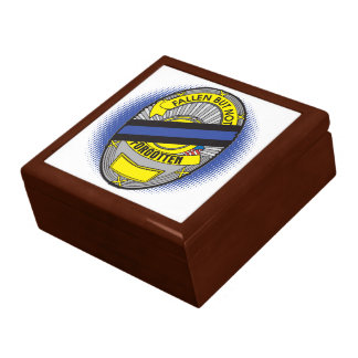 Thin Blue Line Badge Gift Box