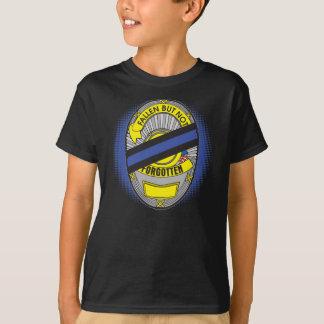 Thin Blue Line Badge T-Shirt