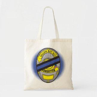 Thin Blue Line Badge Tote Bag