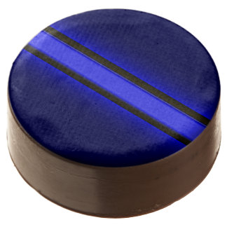 Thin Blue Line Banquet Dessert Chocolate Dipped Oreo