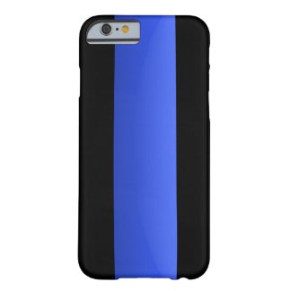 Thin Blue Line Barely There iPhone 6 Case