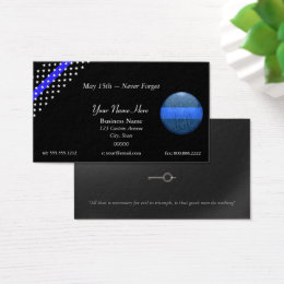 Police business cards 500 police business card templates thin blue line beautiful st michael police business card colourmoves Images