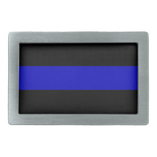 Thin Blue Line Belt Buckle