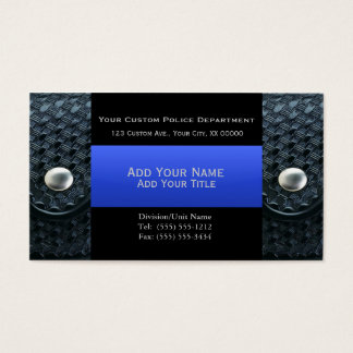 Thin Blue Line - Belt Keepers and Bullet Business Card