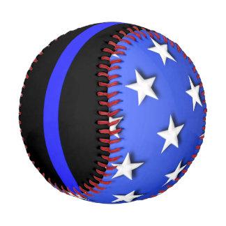 Thin Blue Line Big Stars and Stripes Baseball