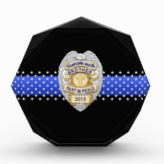 Thin Blue Line - Brother Guardian Angel Memorial Award