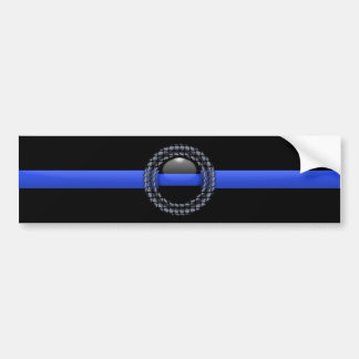Thin Blue Line Bumper Stickers