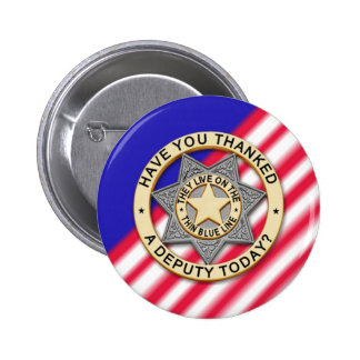Thin Blue Line Button