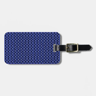 Thin Blue Line Buttons Luggage Tag