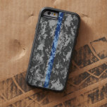 Thin Blue Line Camo iPhone 6 Case