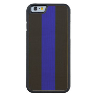 Thin Blue Line Carved® Maple iPhone 6 Bumper