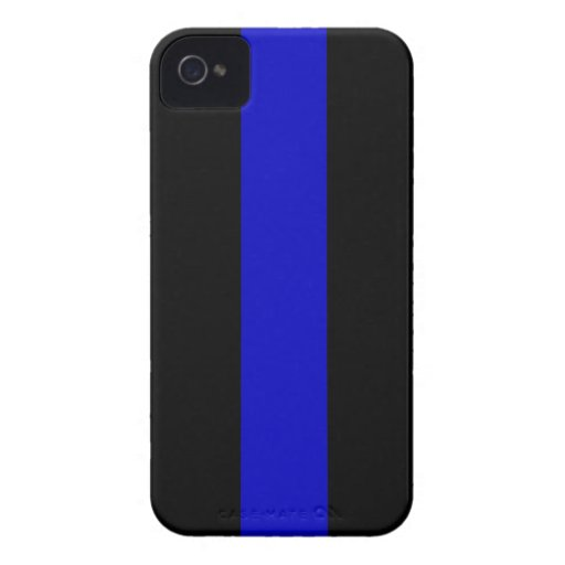 Thin Blue Line iPhone 4 Case-Mate Case