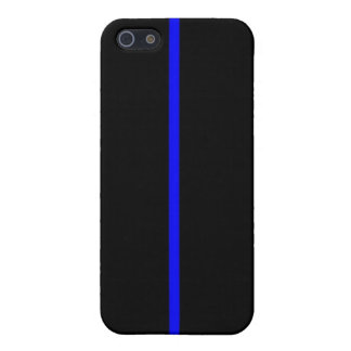 Thin Blue Line Case For iPhone SE/5/5s