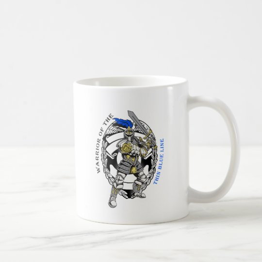 THIN BLUE LINE COFFEE MUG