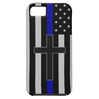Thin Blue Line Cross iPhone SE/5/5s Case