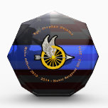 """Thin Blue Line Custom Fremont Plaque 5<br><div class=""""desc"""">This Custom Fremont Traffic Officer Plaque was an actual custom request that we created to the specifications of the customer. Although this serves as a sample we can custom design a similar plaque or award for your even too. Simple email us with your request.</div>"""