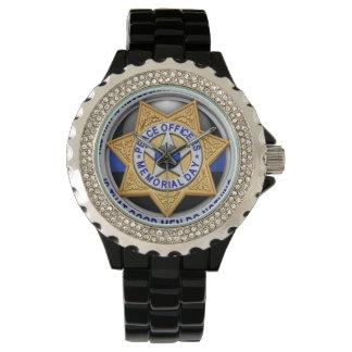 Thin Blue Line - Deputy Badge Wristwatch