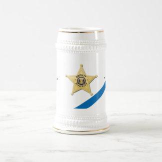 Thin Blue Line Deputy Sheriff Beer Stein