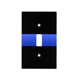Thin Blue Line Design Light Switch Plates