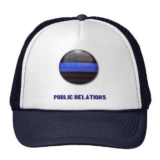 Thin Blue Line Divisional Symbol - Police PR Trucker Hat