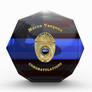 Thin Blue Line - Erie Colorado PD - Vasquez Award