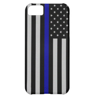 Thin Blue Line Flag Case For iPhone 5C