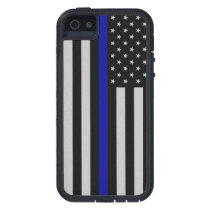 Thin Blue Line Flag Case For iPhone SE/5/5s