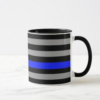 Thin Blue Line Flag Coffee Mug