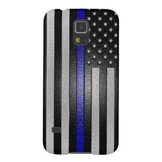 Thin Blue Line Flag Edged Galaxy S5 Case