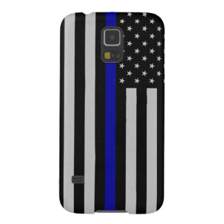 Thin Blue Line Flag Galaxy S5 Covers