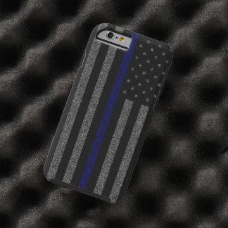Thin Blue Line Flag Grunge iPhone 6 Case