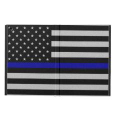 Thin Blue Line Flag iPad Air Case - No Kickstand at Zazzle