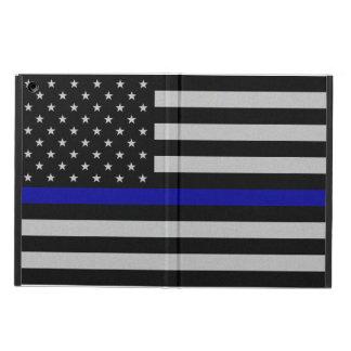 Thin Blue Line Flag iPad Air Case - No Kickstand