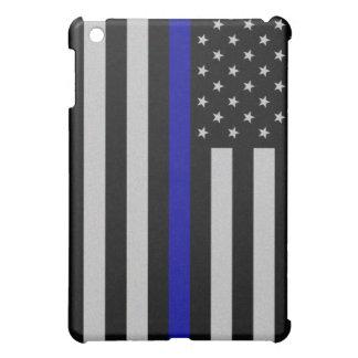 Thin Blue Line Flag iPad Mini Case