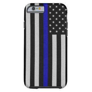 Thin Blue Line Flag iPhone 6 Case