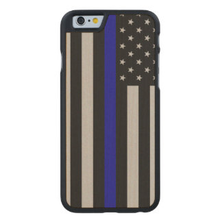 Thin Blue Line Flag iPhone 6 Case