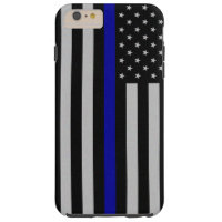 Thin Blue Line Flag iPhone 6 Plus Case