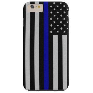 Thin Blue Line Flag iPhone 6 Plus Case