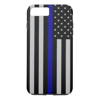 Thin Blue Line Flag iPhone 7 Plus Case