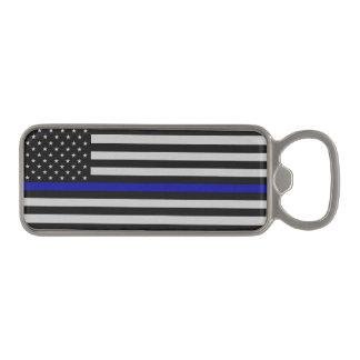 Thin Blue Line Flag Magnetic Bottle Opener