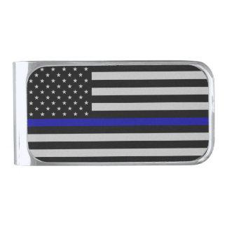 Thin Blue Line Flag Money Clip